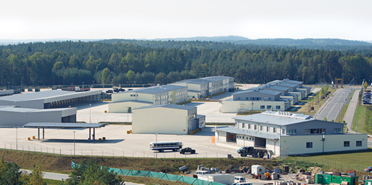 New Maintenance Facility VMS Armor 2<br>Grafenwöhr