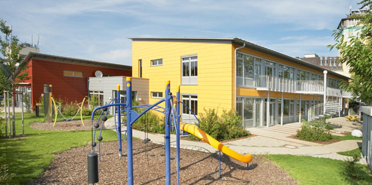 Neubau Hortgebäude<br>Feldkirchen