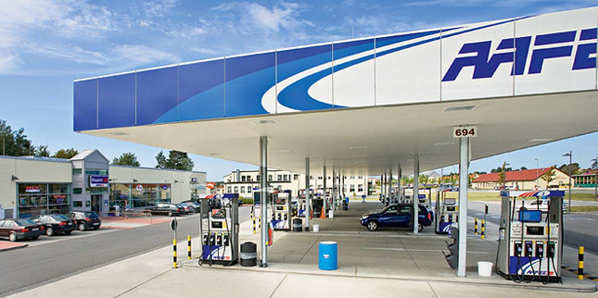 Shoppette + Gasstation<br>Grafenwöhr