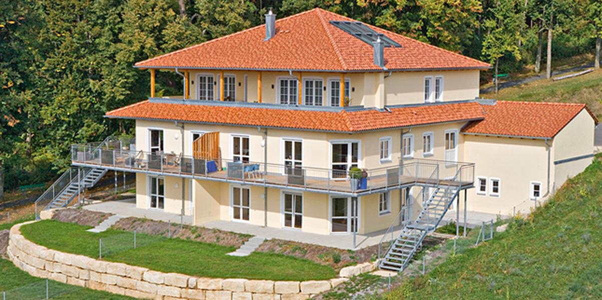 Mehrparteienhaus am Südhang<br>Amberg